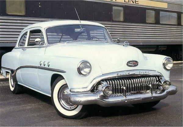 Aka for 1952 buick special 2 door