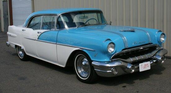 Pontiac 1949 1958 autonicolya for 1955 pontiac chieftain 4 door