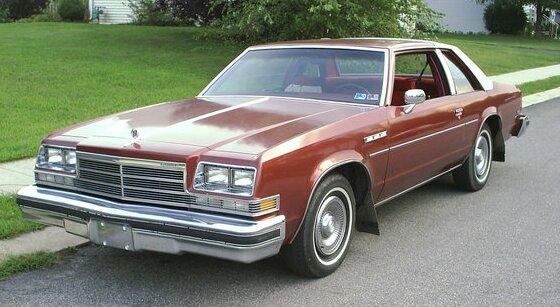 1978 Buick Le Sabre Coupe. У Le Sabre изменения ...