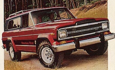 La gamme Jeep : le Cherokee 1980%20Jeep%20Cherokee