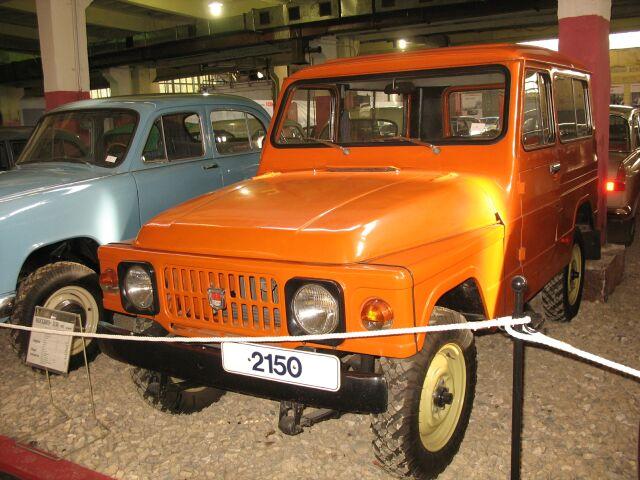 Москвич-2150 – первый советский внедорожник для «гражданки»